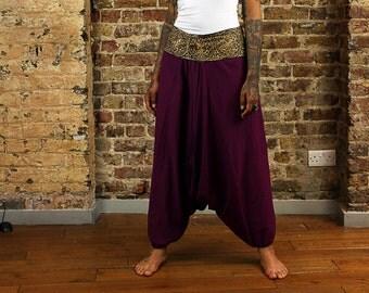 The Cotton Aladdin in Purple
