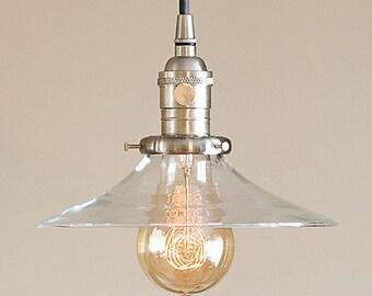 Pendant Light Fixture 14 Metal Porcelain By Oldebricklighting