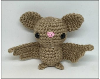 Amigurumi Batty Bat Plush Crochet Toy