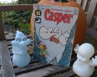 Halloween Casper The Friendly Ghost comic book and Toys