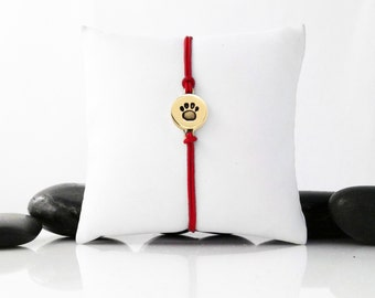 Dog Paw, Paw Print, Dog Jewelry, Friendship Bracelet, Dog Bracelet, Dog Charm, Dog Memorial, b246cB