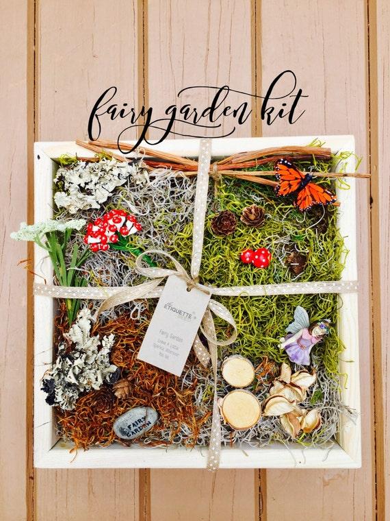 Fairy Garden, Fairy Garden Kit, Fairy Garden Accessories, Fairy, Fairy Garden Door, Fairy Garden Birthday Party, Fairy Garden DIY, Planter