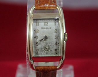 Very Rare Vintage 1939 Bulova Ambassador 17 Jewels Mechanical Long Case Watch