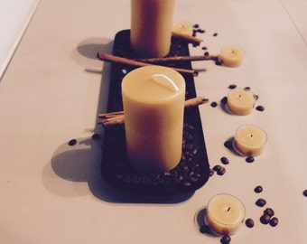 Centerpiece Package - 8 Beeswax Candles