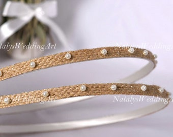 STEFANA Greek Crowns Ancient Greek Style Gold Plated Olive
