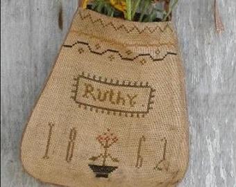 Pattern: Ruthys Sampler Pocket Cross Stitch created by Notforgotten Farm
