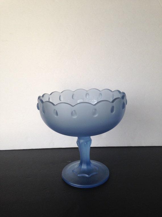 Items similar to glass fruit bowl decorative bowl blue glass bowl blue table decor - Kitchen table centerpiece bowls ...
