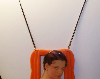 NEW PRICE - Classic Hollywood Lovers Necklace ~ Louise Brooks