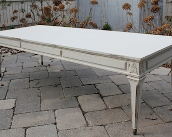 Vintage French Swedish Style Coffee Table