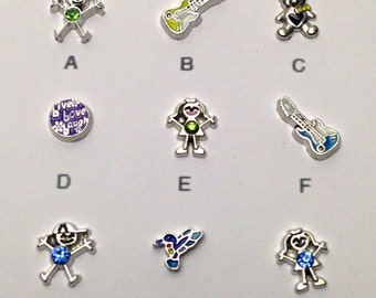 1 memory charm for locket ,your choice # MIN CH 013