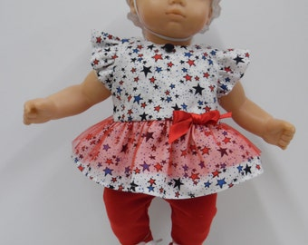 Bitty Baby 4th of July Dress