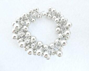 Cha Cha Bracelet Silver Cha Cha Bracelet Silver Bracelet Cluster Bracelet