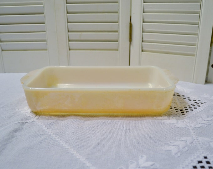 Vintage Fire King Peach Luster Baking Dish Casserole Anchor Hocking Luster Ware PanchosPorch