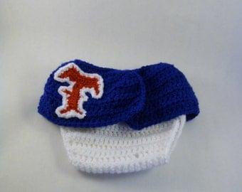 Texas Ranger's  Skirted Diaper Cover Set - 3-6 months