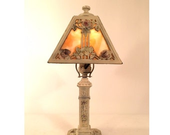 TL10- Early 1900's Mini Slag Lamp