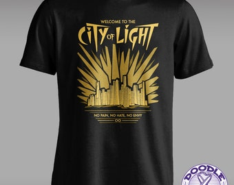 Welcome to the City of Light - The 100 Themed T-shirt