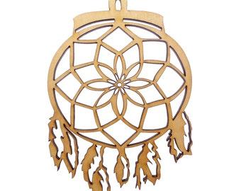 Personalized Dream Catcher Ornament - Dreamcatcher Ornament - Dream Catcher Christmas Ornament