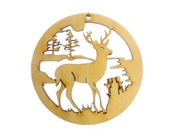 Deer ornament | Etsy