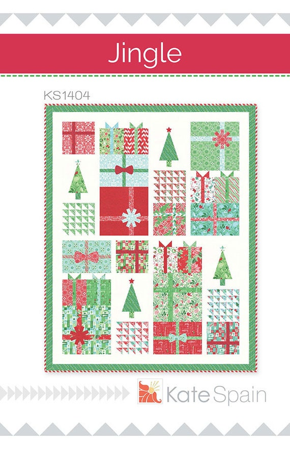 Christmas Quilt Patterns Moda : Jingle By KATE SPAIN For Moda Christmas QUILT Pattern