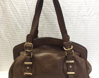 Banana Republic, Brown Leather Purse, Bag