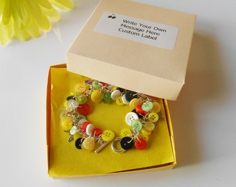 Handmade Bracelet Box, Choose Own Size,  Variety of Colours, Jewellery Boxes, Small Gift Box, Customised Special Packaging, Label Optional