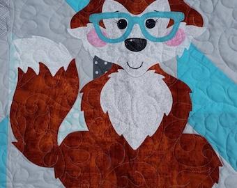 Wise Woodland Fox Quilt