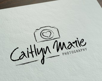 Logo Design - Hand-drawn Photography Logo