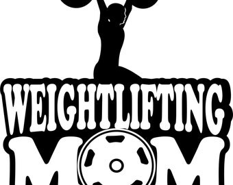 Weightlifting Mom Sweatshirt/ Weightlifting Sweatshirt/ Boy Weightlifter Weightlifting Mom Hoodie Sweatshirt/ Weightlifting Gifts