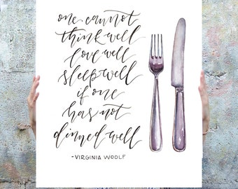 Dined Well Poster