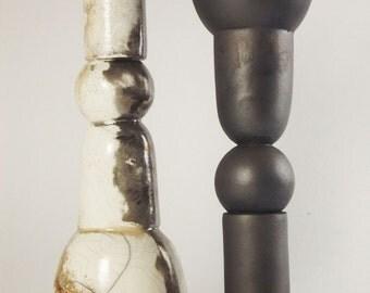 Silhouettes - ceramic sculpture