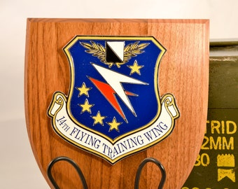 14th Flying Training Wing Plaque - USAF Militaria - Air Force Collectible - USA Collectible
