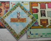 U-Pick Game Boards Lot Monopoly Clue Pokemon Shrek Horse-poly Scrabble Risk Sorry Trivial Pursuit Wall Art Table Top Upcycle Bar Kids Room