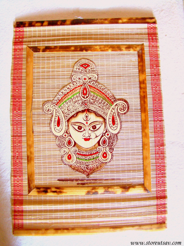 Wall Decoration Handicraft : Home decor indian handicraft wall bamboo paper applique