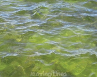 20% SALE! Sea Digital Paper, Water Background, Baby or Product Photography Backdrop, Waves Close Up 61x61cm 2ft