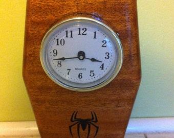 Desk Clock , Office Clock, Mantel Clock, Wood Clock