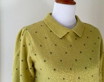 60's PolkaDot Sweater (S/M)
