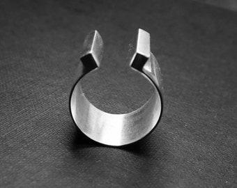 Silver ring: TORRES