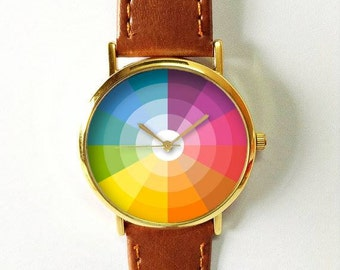 Good Color Wheel Watch Etsy With Ideas