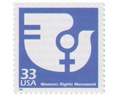 1999 Celebrate the Century 1970s Series - 33c Womens Rights Movement - 5 Unused Vintage US Postage Stamps - Item No. 3189j