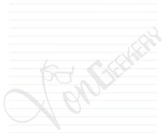 Geek Stationary PDF