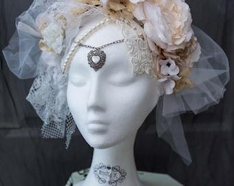 Victorian Headpiece - Emilie