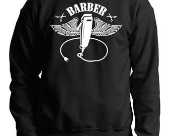Gift For Barber Sweatshirt Barber Shop Sweater
