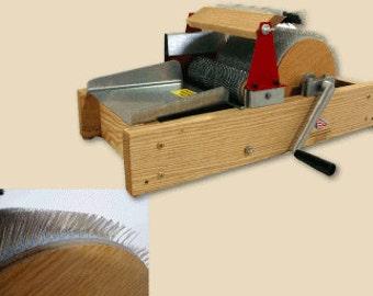 Mad Batt'r Drumcarder by Strauch - Art Batt Carder - Ultimate Fiber Prep and Carding