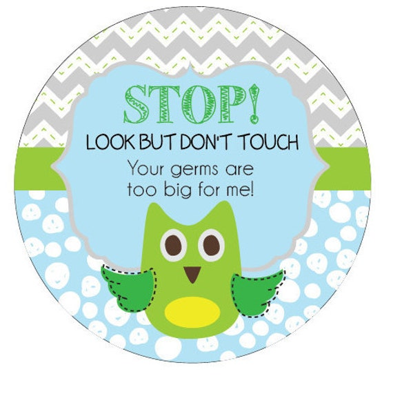 Owl Preemie, newborn, baby car seat tag, baby shower gift, stroller tag, baby car seat sign
