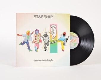 "STARSHIP - ""Knee Deep In the Hoopla"" vinyl record"