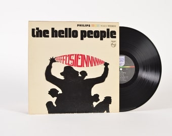 "THE HELLO PEOPLE - ""Fusion"" vinyl record"