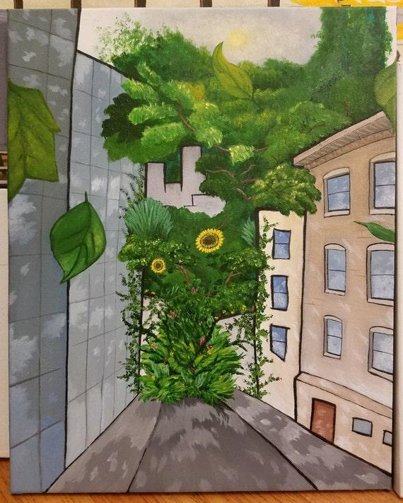 Lush Rain - fine art paper
