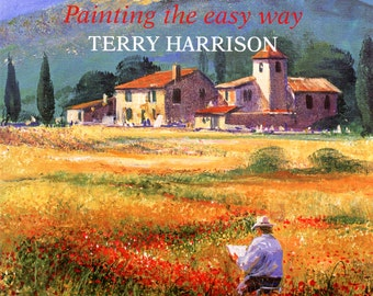 Brush With Acrylics by Terry Harrison | Art Instruction Book