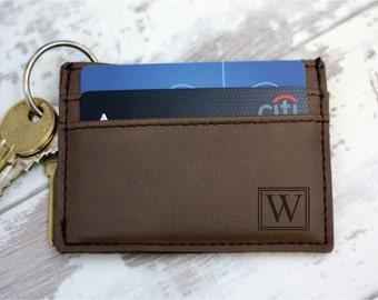 Personalized Money Clip - Money Clip Wallet - Engraved Money Clip - Leather Money Clip - Money Clip For Men