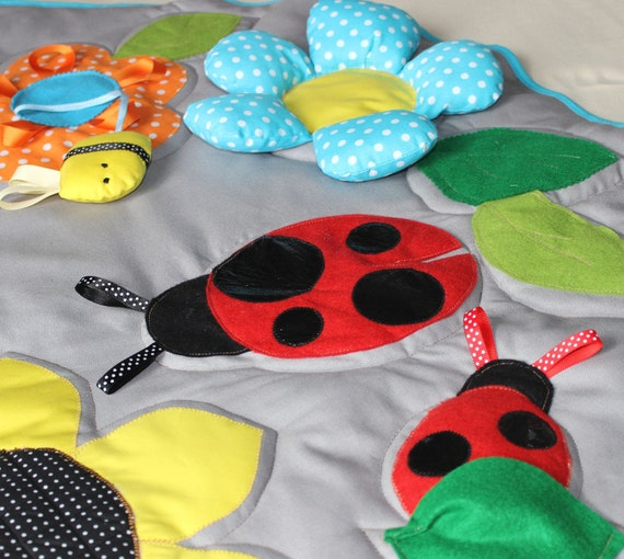 Baby Playmat Play Mat Sensory Toys Baby Busy Blanket
